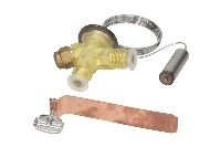 Thermostatic valves for refrigeration