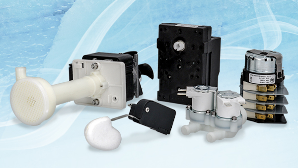 Spare parts for ice machines available from LF