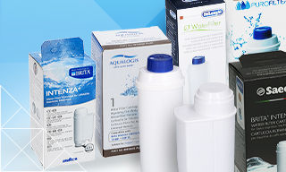 Full range of coffee machine water filters: Original and After-Market